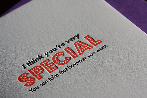 """Special"" Card"