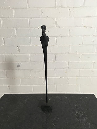 Carved African Figure of a woman c1960s