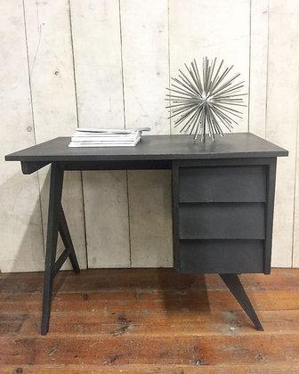 Ebonised Oak French 1950s Desk
