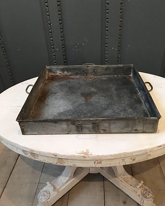 Over sized zinc tray