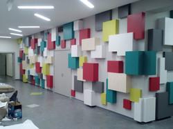 Оформление стены
