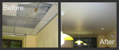 Suspended ceiling vs stretch ceiling