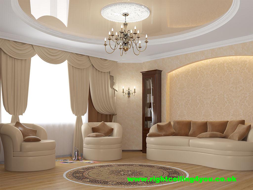 beige gloss stretch ceiling uk.jpg