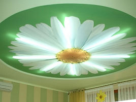 ceiling design in the kids room