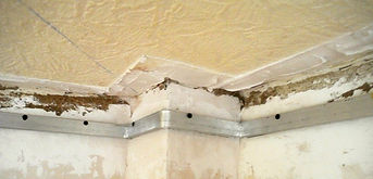 profiles and tracks for a stretch ceiling