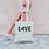 Thumbnail: LOVE HOPE JESUS TOTE BAG