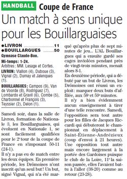 1er tour de Coupe de France
