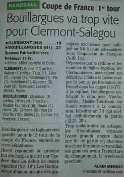 1er tour de la Coupe de France