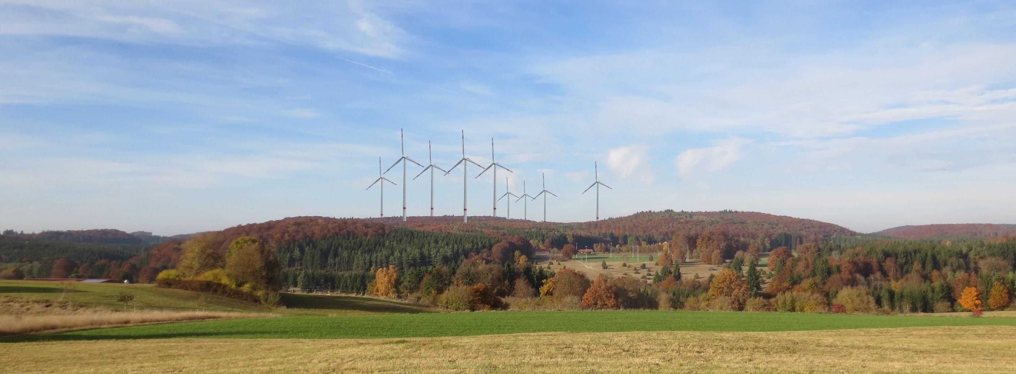 Windkraftanlagen Schäfbuch