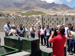 Una delegación del Gobierno de La Palma visita nuestras instalaciones