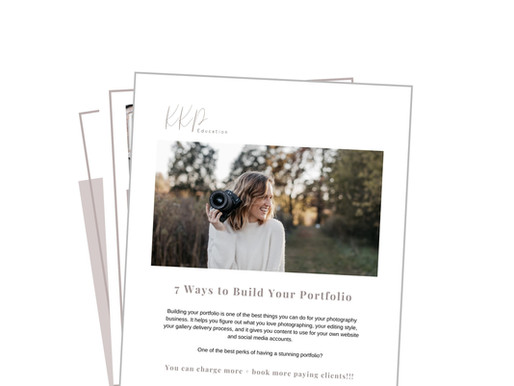 FREE: 7 Ways to Build Your Portfolio + Scripts