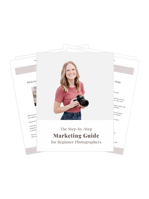 Ebook: Marketing Guide for Photographers