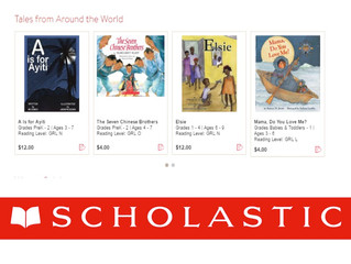 One Moore Book + Scholastic Reading Club