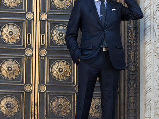 Why is The Classic Navy Suit a Big Deal?