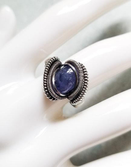 Caelum Tanzanite & Sterling Ring