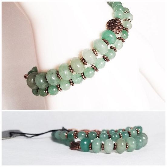 Double Aventurine Bracelet