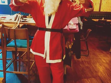 Susan Christmas, raising money for St Leonards Hospice