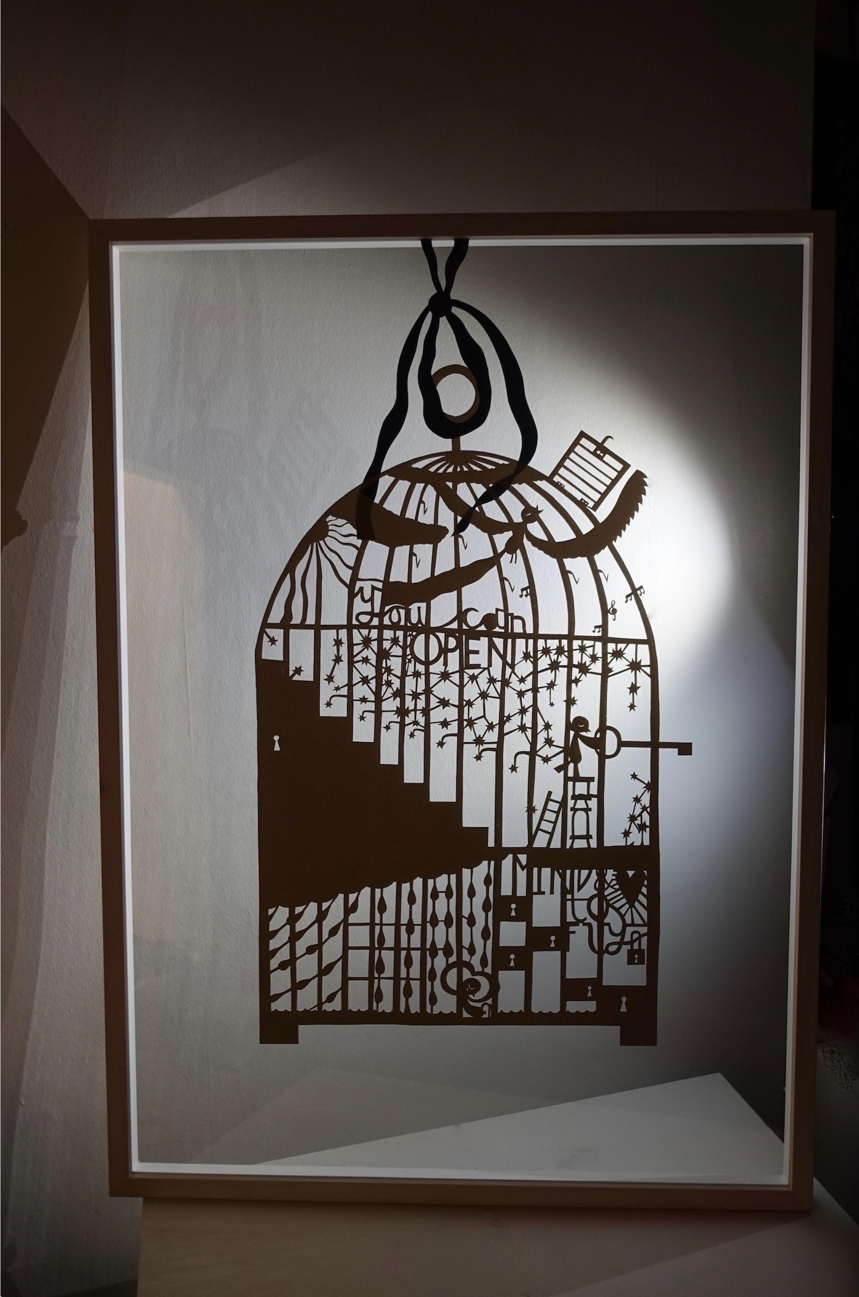 bird cage, 2015