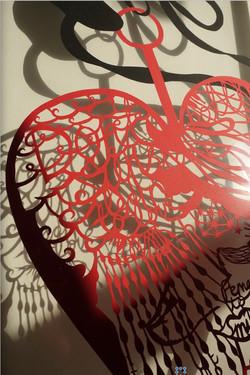 big heart (close up)
