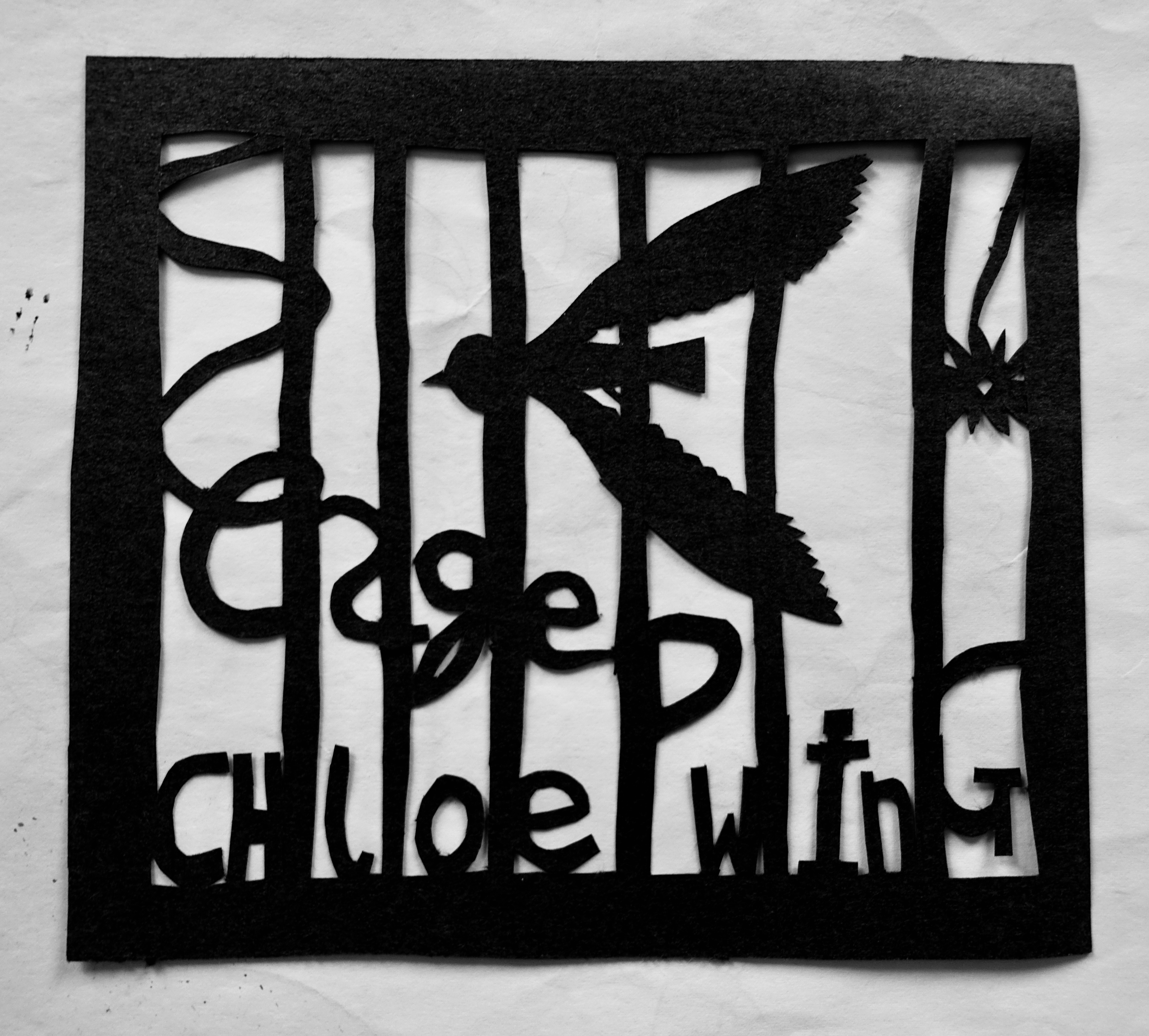 'Caged' concept album cover