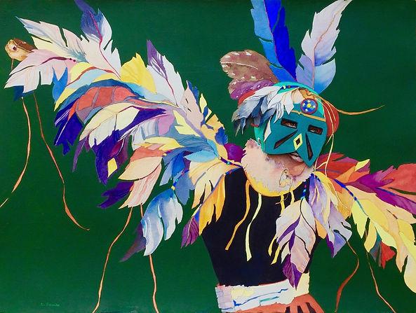 EAGLE DANCER 30_X22_