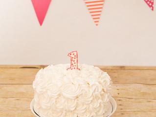 Happy Birthday, Phia! | Cake Smash | Poquoson, VA
