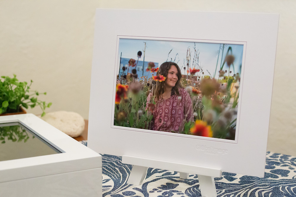 Willow Bay Photography's heirloom folio box with prints