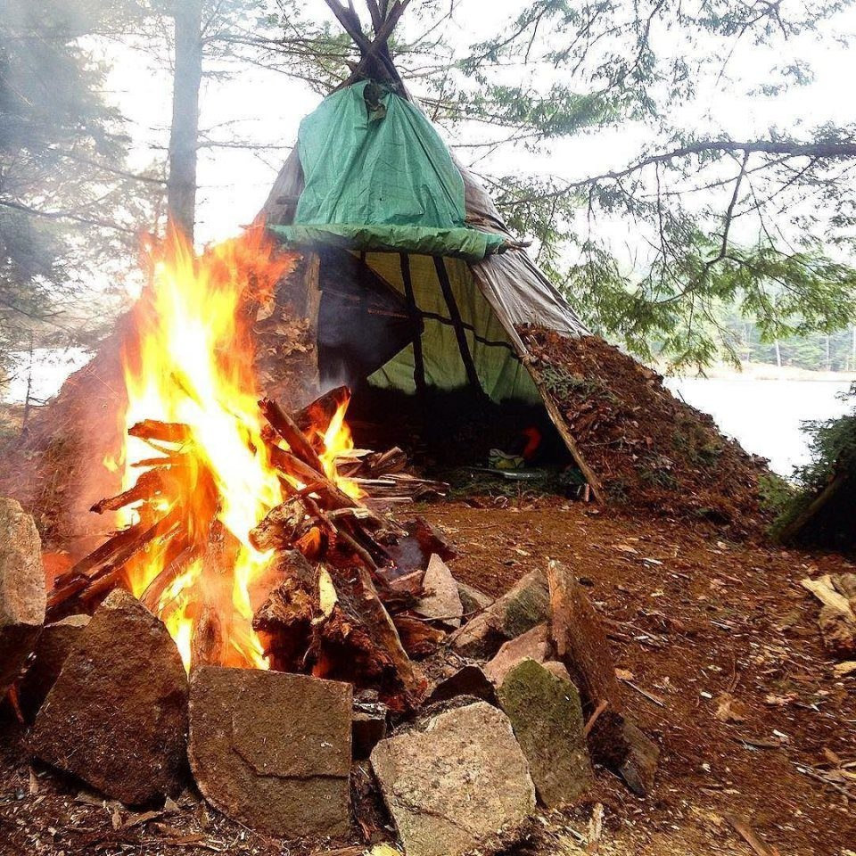 Туристический поход с палатками на 3 дня