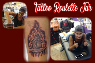 Tattoo Roulette Jar