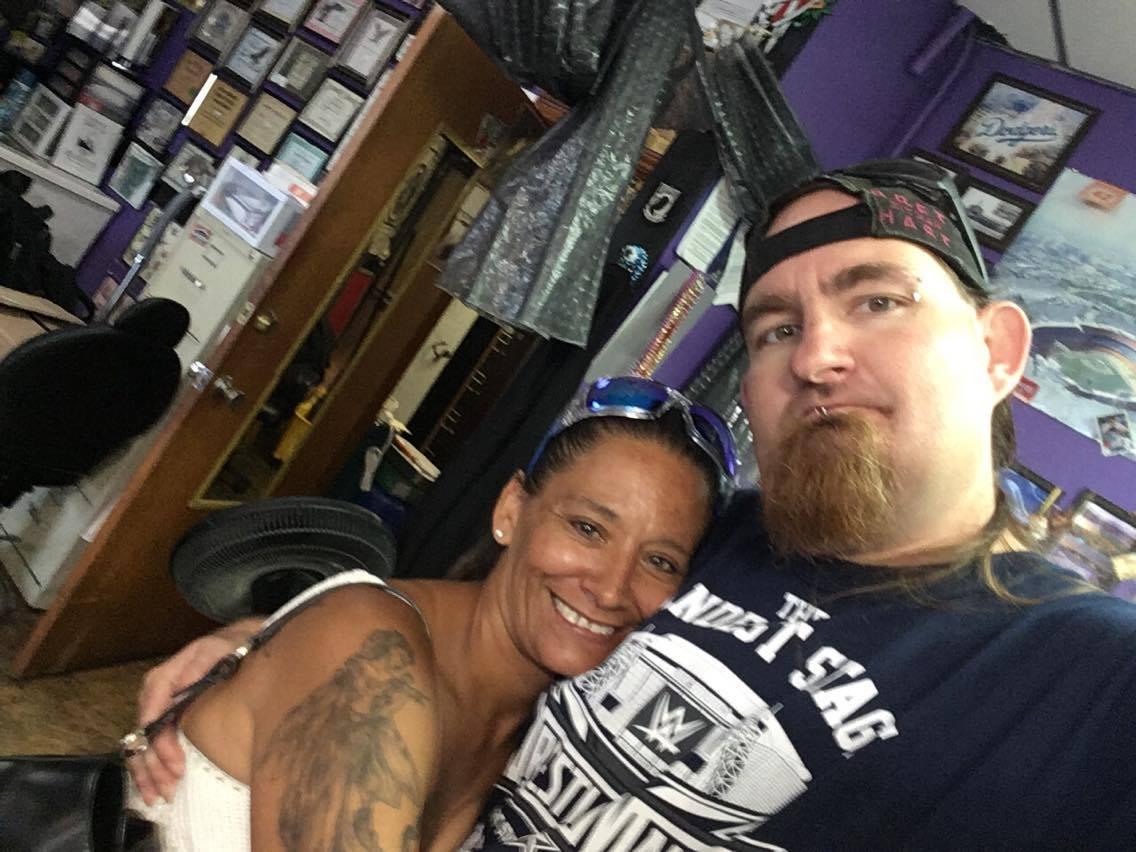 Wife of Tattoo Legend