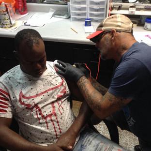 Painless Tattoos you Fall a Sleep