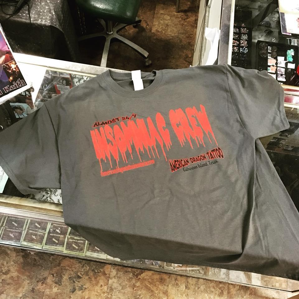 Insomniac Crew Shirt