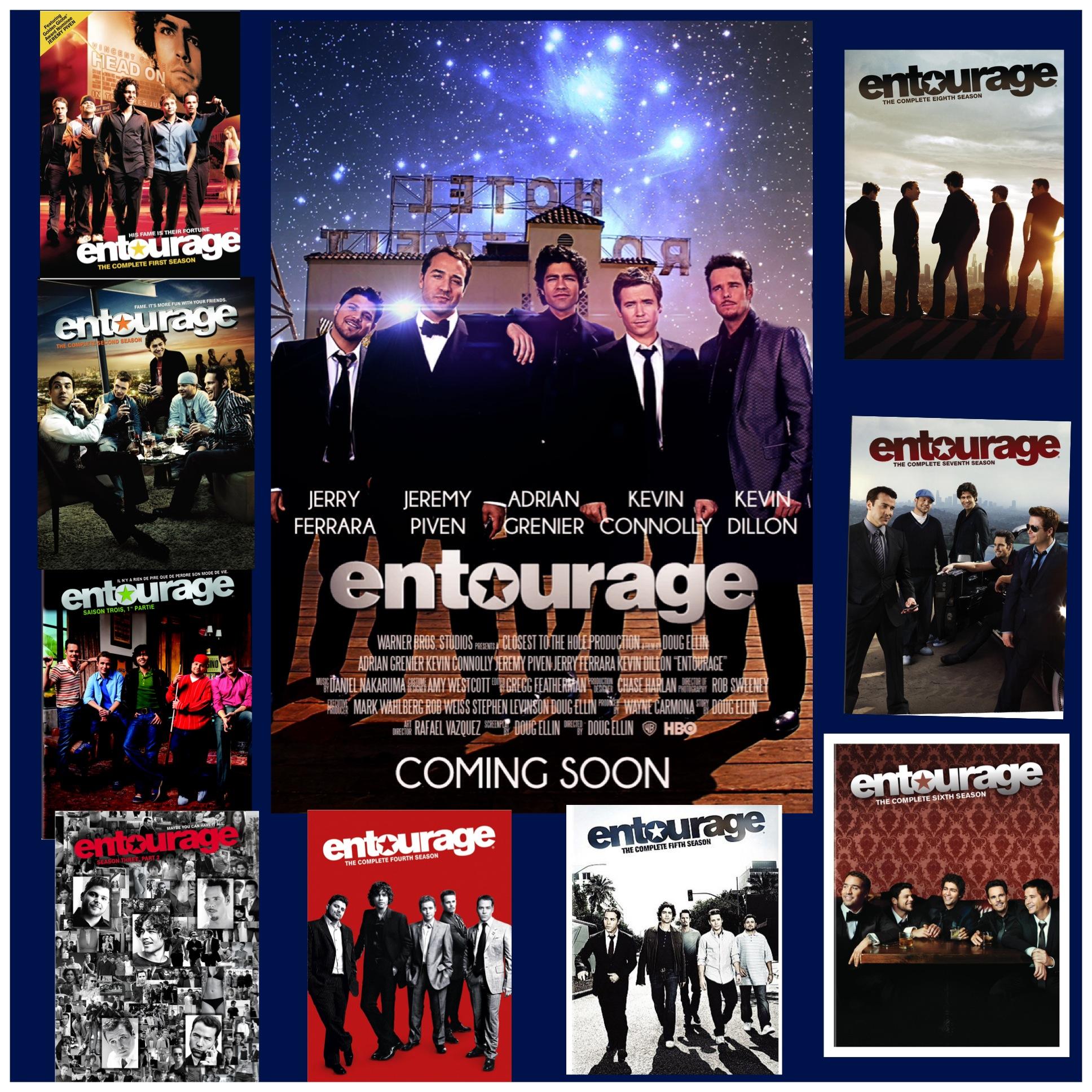 Entourage the Movieis Coming