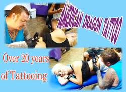 Over 20 years of Tattooing