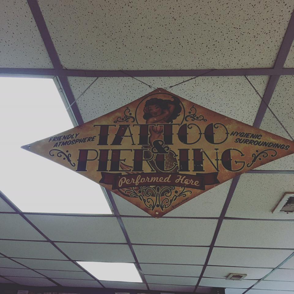 New Old School looking sign