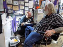 Stranger & Tattoo Doug