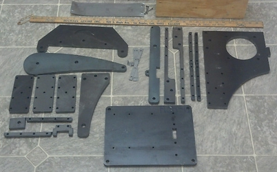 The pieces for a GIB, as shipped.