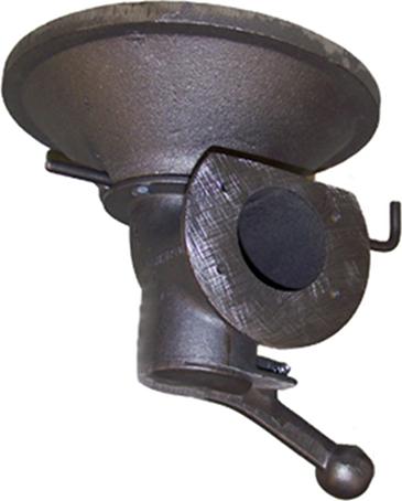 """Cast iron firepot, Centaur Forge's """"coke firepot"""""""