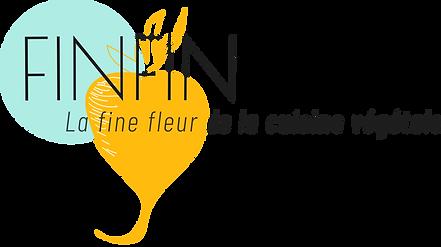 logo FINFIN traiteur vegane chef à domicile avignon provence