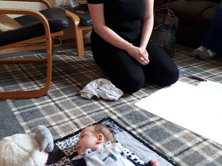 Baby and Mum in Training
