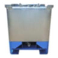 Stelfab Steltight LP Bin UN31A/Y transport canada rated Intermediate Bulk Container