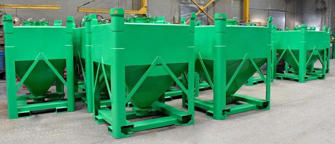 Custom chemical bins for Vanchlor