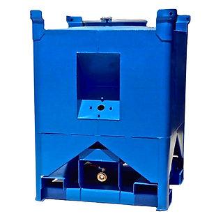 Stelfab Steltight Grease Bin liquid container steel Oil Bin pump housing