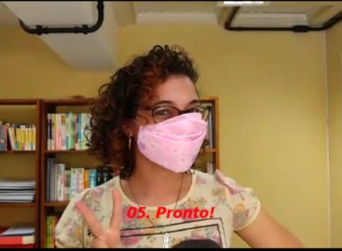 Como transformar seu lenço em uma máscara de proteção (em 1 minuto)