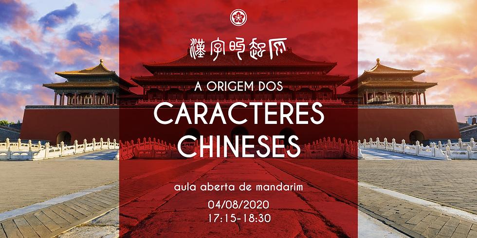 Palestra sobre: A origem dos caracteres chineses