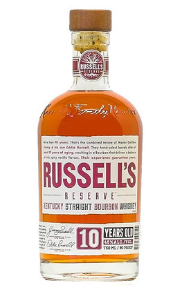 Whisky Kentuky Steaight bourbon Russell's Reserve 10y cl 70