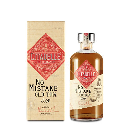 Old Tom gin Cittadelle No mistake cl 50 Astucciato