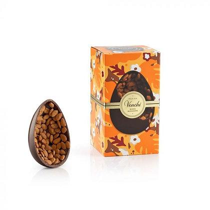 Venchi Uovo di cioccolato Gran Gourmet mandorlato fondente 540g