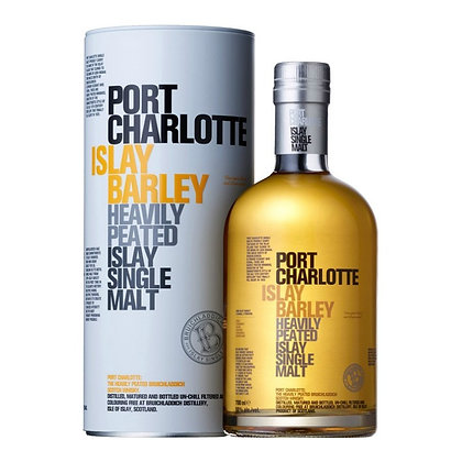 Scotch whisky Port Charlotte Islay Barley cl 70 Astucciato