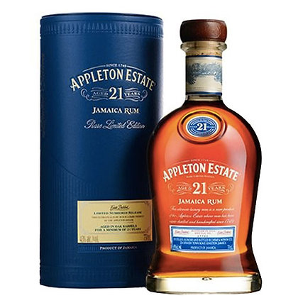 Jamaican Rum Appleton Estate 21 years cl 70 astucciato